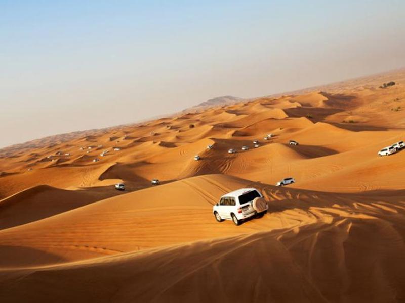 Private Car Desert Safari