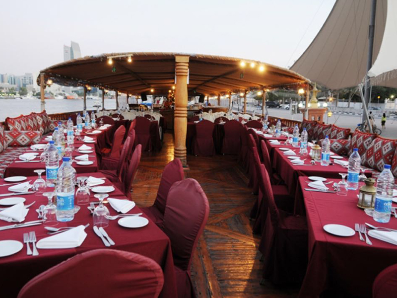 Dhow Cruise Dinner Dubai