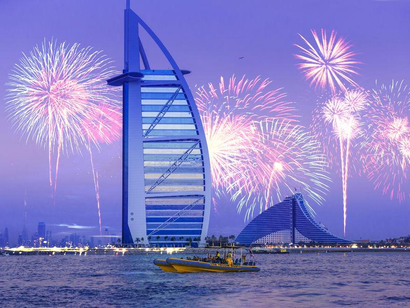 Dubai Marina Speedboat